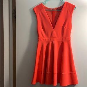 Akira Coral Dress